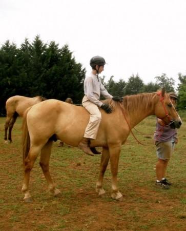 horseback riding Smith Mountain Lake