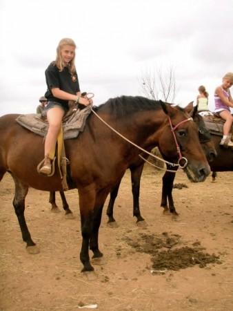 Smith Mountain Lake horseback riding lesson